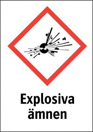 Explosiva ämnen