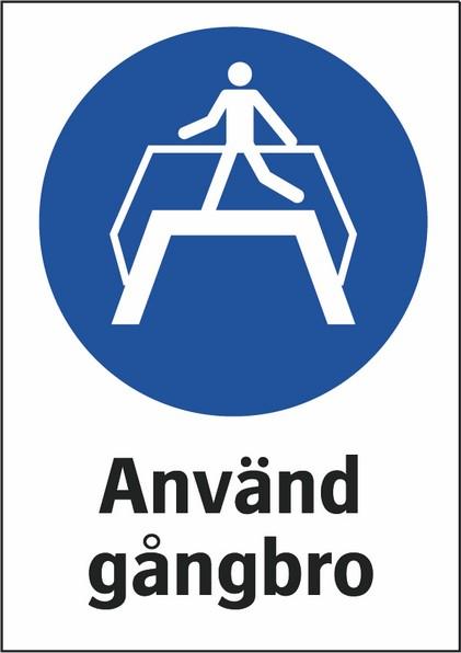 Använd gångbro