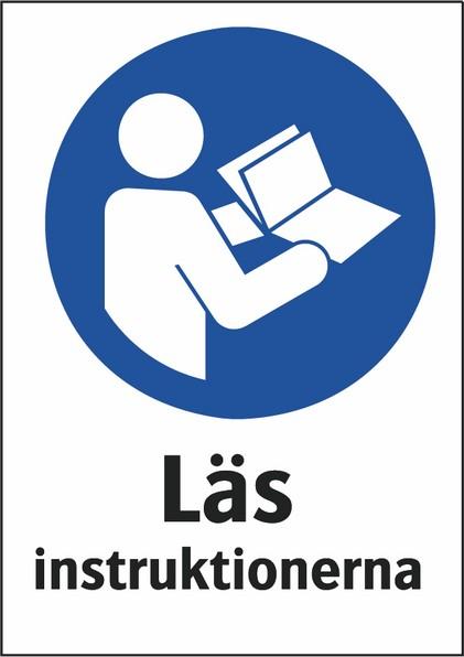 Läs instruktionerna