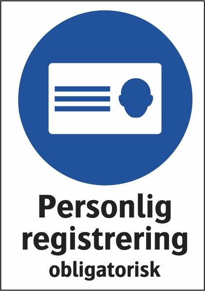 Personlig registrering