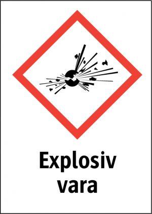 Explosiv vara