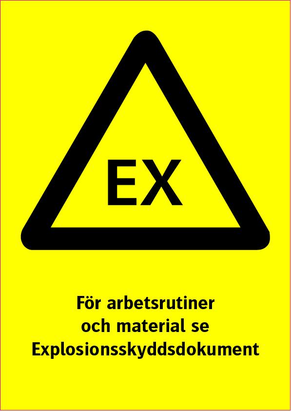 EX För arbete och material