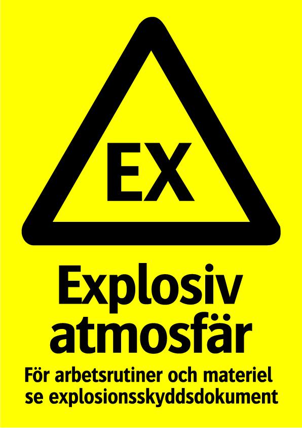 Explosiv atmosfär