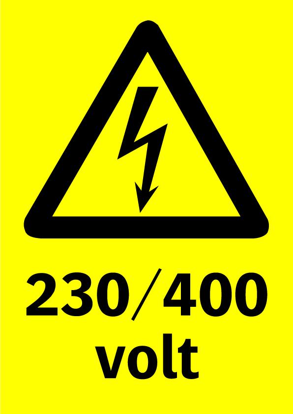 230/400 volt