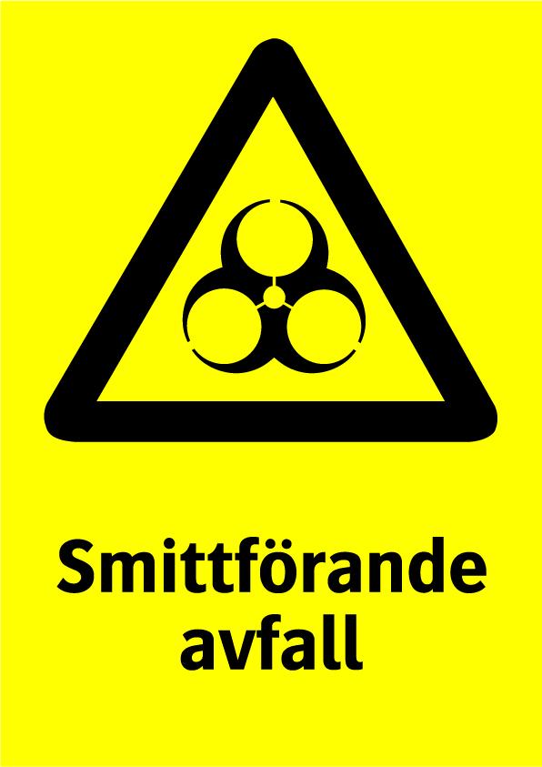 Smittförande avfall