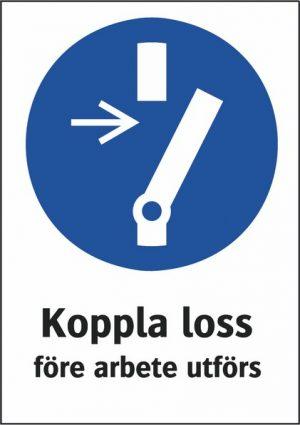 Koppla loss
